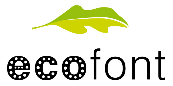 Save ink with Ecofont